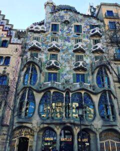 Facciata della Casa Battló Barcellona