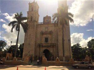 Cattedrale di Valladolid in Messico Riviera Maya