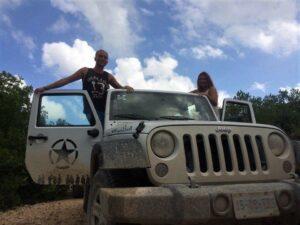 Jeep nella riserva naturale Messico