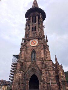 Cattedrale Friburgo di Brisgovia in Germania