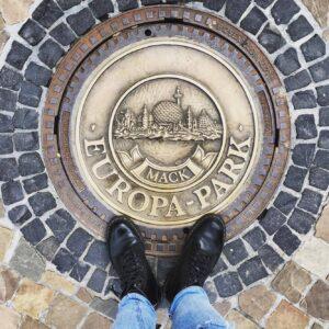 Tombino d'orato al Parco divertimenti Europark Germania