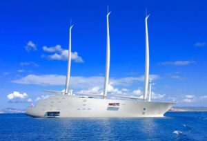 Imbarcazione privata milionario a Formentera