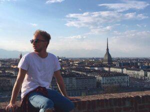 Vista panoramica della città di Torino