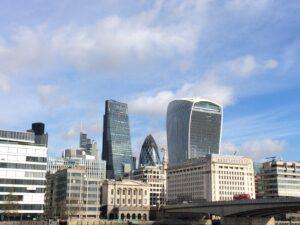 Grattacieli London city Londra