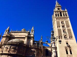 La Giralda campanile di Siviglia in Spagna