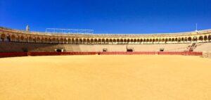 Arena dei tori a Siviglia Spagna