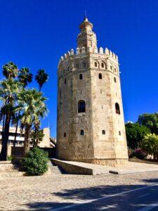 Torre dell'oro a Siviglia Spagna