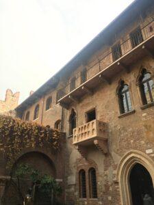 Balcone di Giulietta e Romeo a Verona