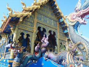 Esterno del Tempio Blu Thailandia
