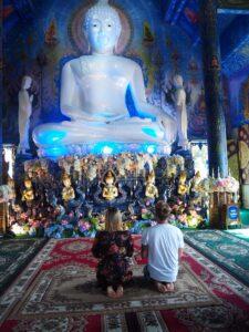 Tempio blu di Chiang Rai Thailandia