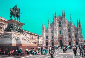 Esterno del Duomo di Milano