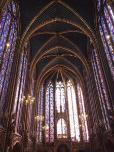 vetrata Sainte Chapelle Parigi