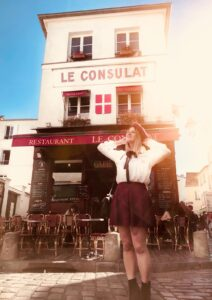 Le Consulat ristorante a Montmarte Parigi
