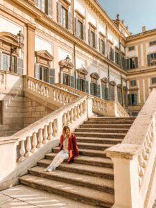Scalinata Villa Reale