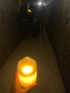 Candele nella Città sotterranea