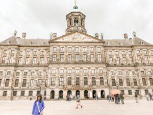 Piazza principale di Amsterdam