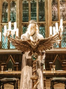 Leggio e Silente Tour Harry Potter a Londra