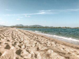 Spiaggia Le saline in Sardegna