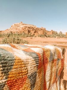 Città di Ouzarazate nel Sahara Marocco