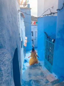Chefchauen la città Blu Marocco