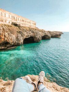 Grotte a Santa Maria di Leuca in Puglia