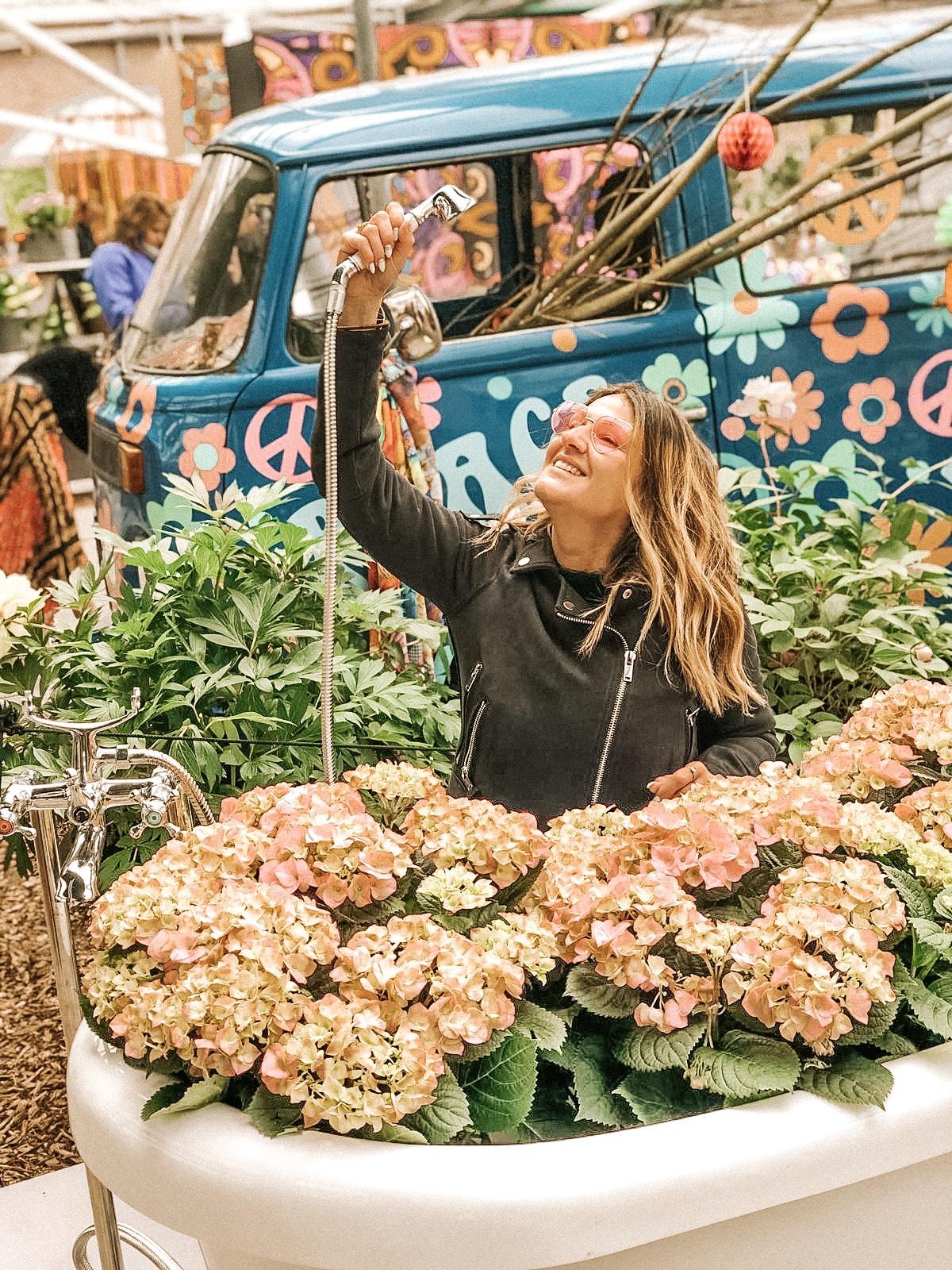Parco Keukenhof, vasca di fiori Olanda