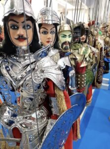 Marionette Siciliane alla BIT di Milano