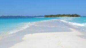 Lingua di sabbia in Madagascar