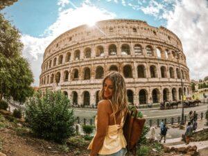 Foto del Colosseo a Roma