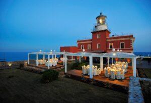 Esterno dell'Hotel Faro Capo Spartivento