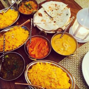 Cena indiana degustazione