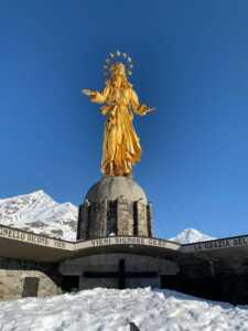 Statua Madonna d'Europa Madesimo
